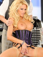 Jessica Drake riding on mobs huge cocks from Wicked Pictures
